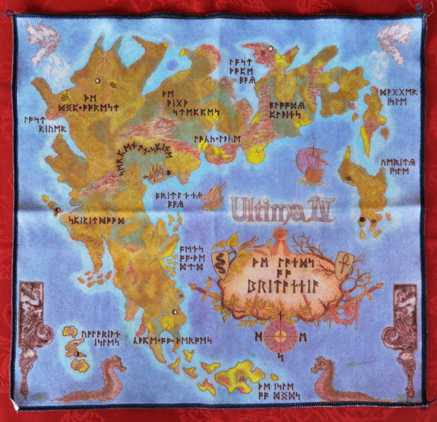 Ultima IV Cloth Map